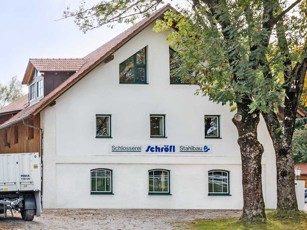 Schröfl GmbH - Schlosserei - Stahlbau: Firmensitz Gut Wandelheim