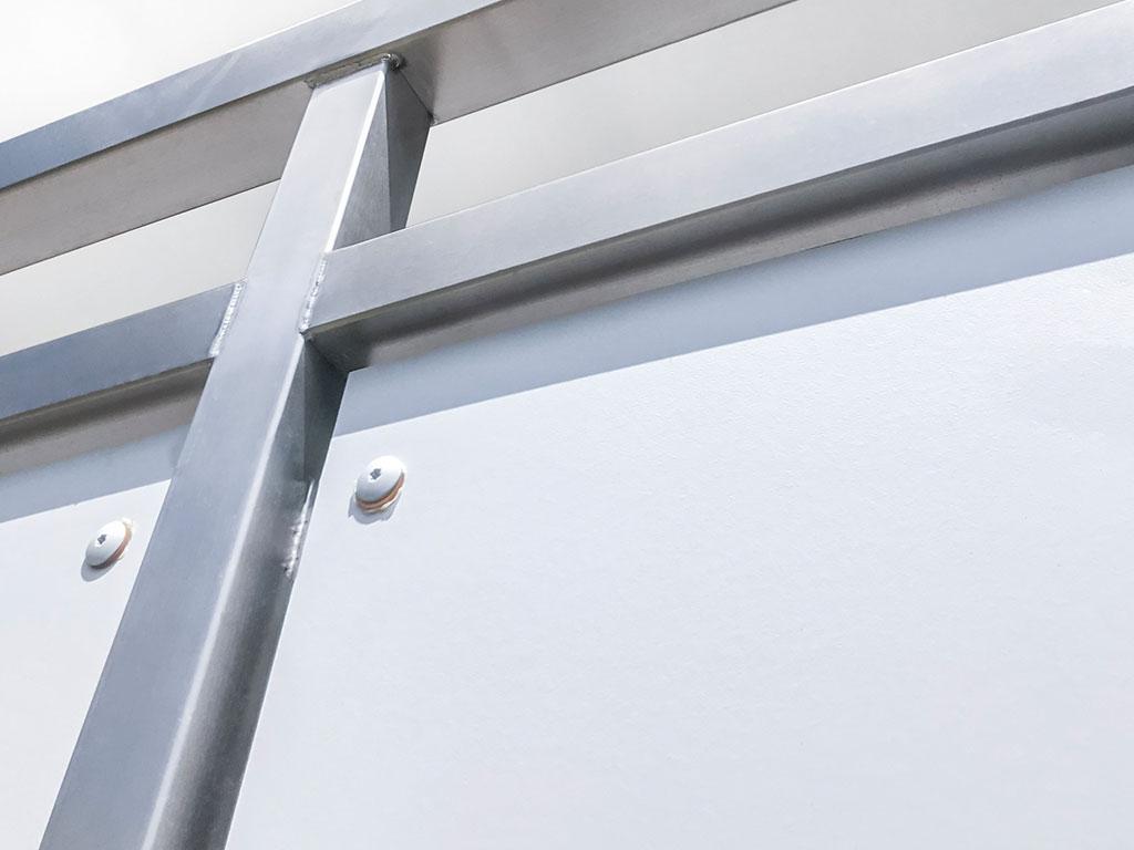 Schröfl GmbH - Schlosserei - Stahlbau: Leistungen und Referenzen: Balkone