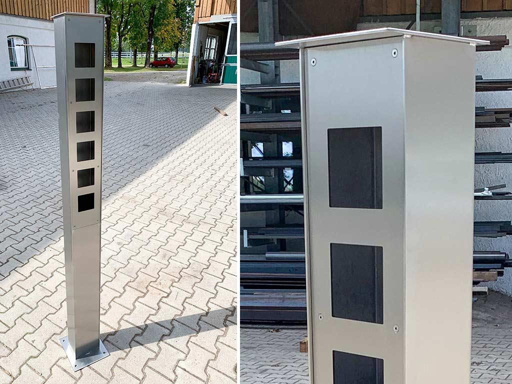 Schröfl GmbH - Schlosserei - Stahlbau Sonderkonstruktionen Säule