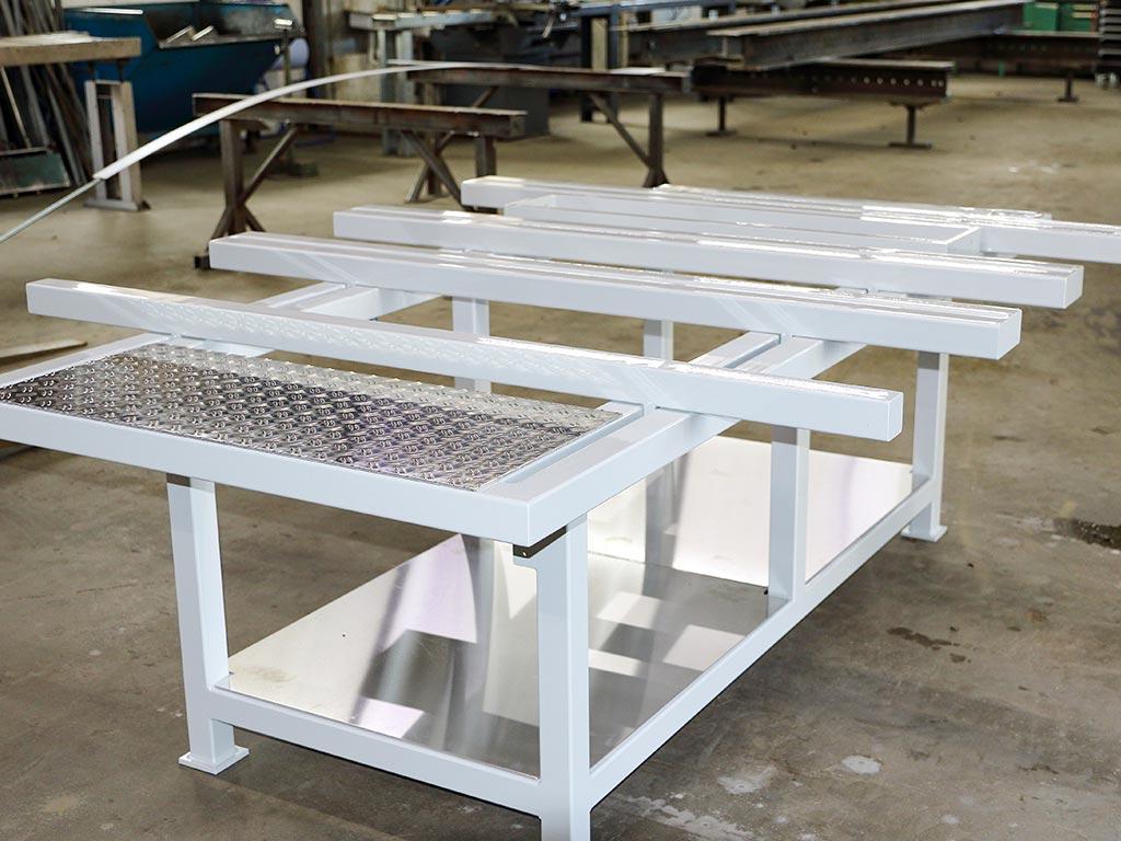 Schröfl GmbH - Schlosserei - Stahlbau Leistung: Sonderkonstruktionen