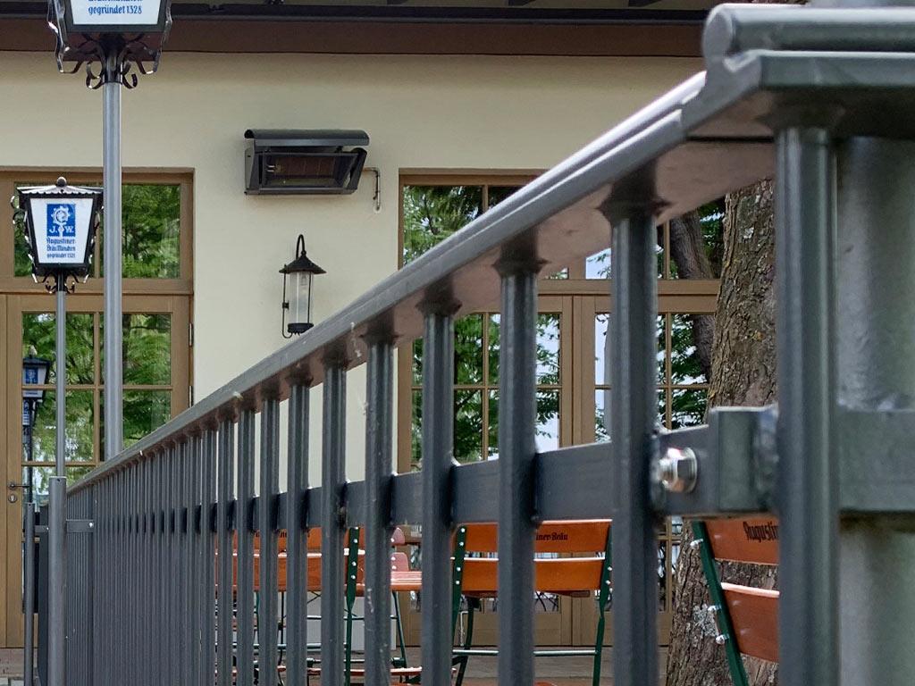 Schröfl GmbH - Schlosserei - Stahlbau Leistung: Zäune